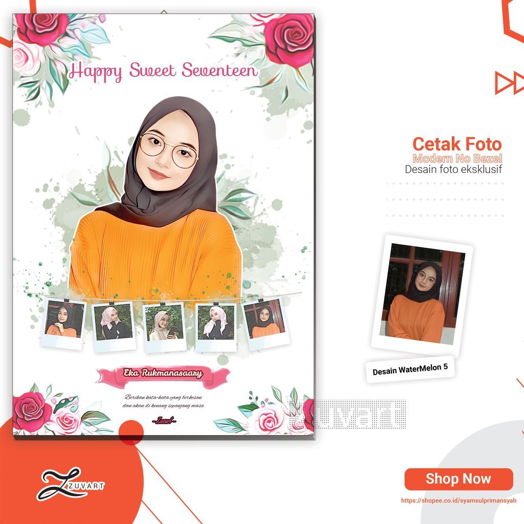 PROMO!!! Desain Foto dan Cetak Kado Ultah Nikah Wisuda ...