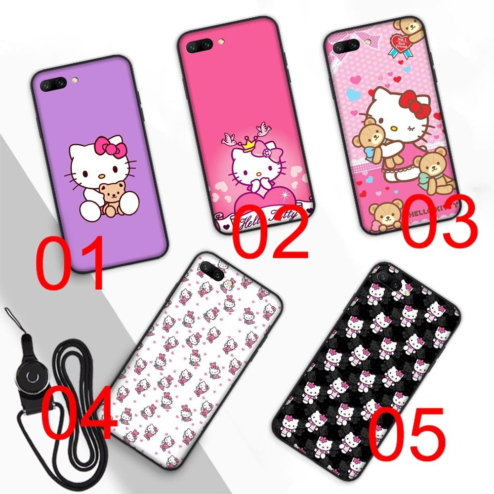 Casing Soft Case Gambar Hello Kitty Lucu Untuk Handphone Smartphone