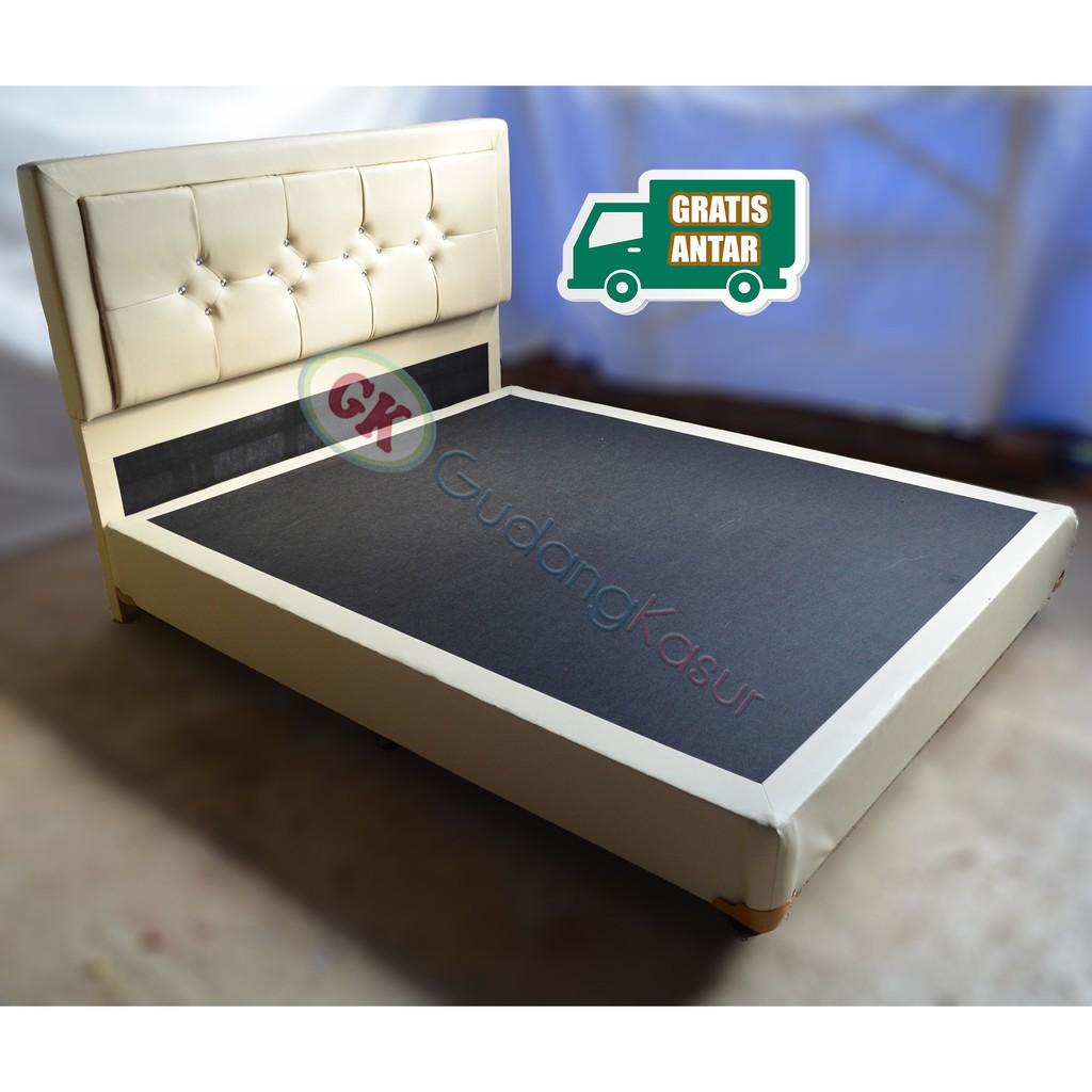 Dipan Divan Tempat Tidur Brvc Ranjang Untuk Kasur Springbed Shopee Uniland Paradise Plushtop Dakota 100x200 Tanpa Sandaran Jadebotabek Only Indonesia