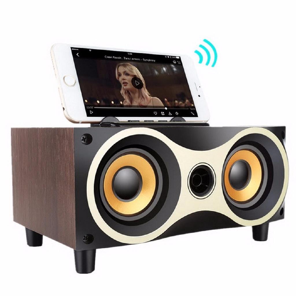 Mini Wireless Bluetooth Shockproof Speaker FM Stereo for Smart Phone Laptop PC