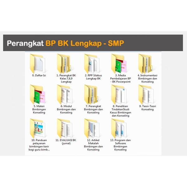 Perangkat Administrasi Bp Bk Lengkap Shopee Indonesia