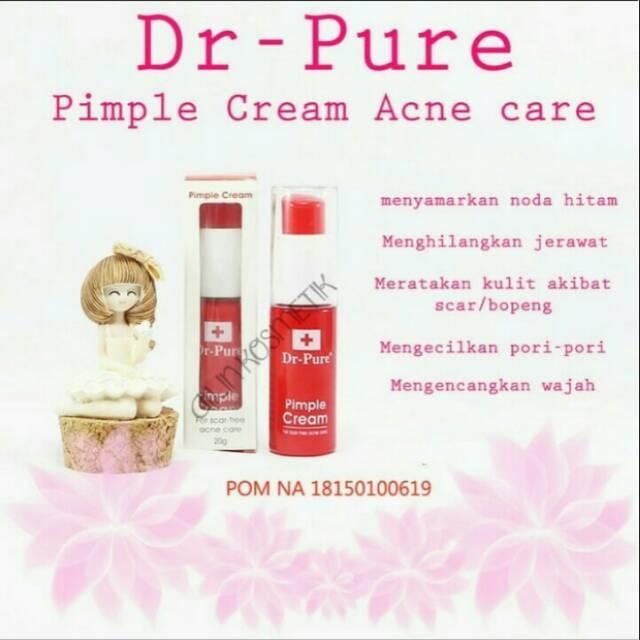 Cream Dr Pure Penghilang Jerawat