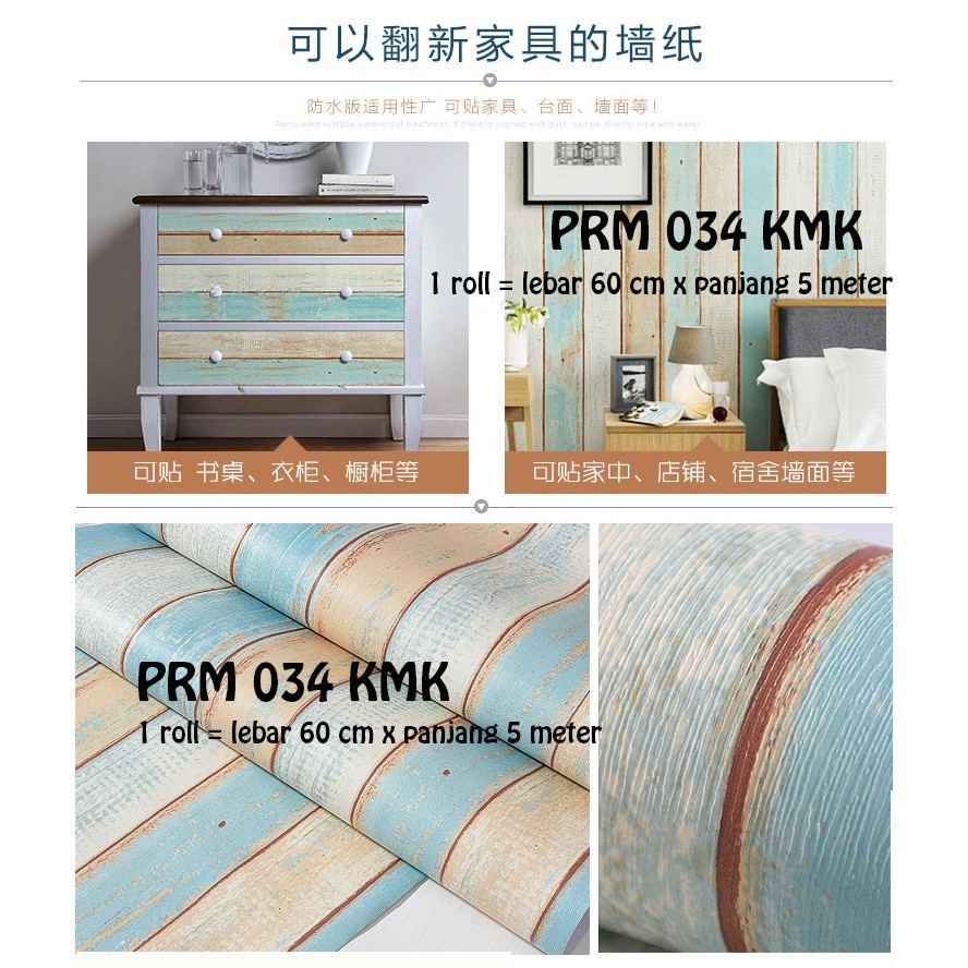 Free Ongkir Wallpaper 10 566 Shopee Indonesia Lux 51 Prb Luxurious Sticker Motif Bunga Biru Shabby