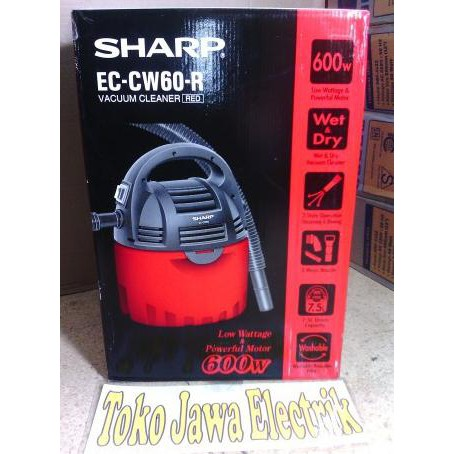 VACUM CLEANER SHARP EC-8305-P (Pink) / EC-8305-B (Biru) | Shopee Indonesia