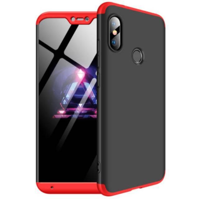 Xiaomi Redmi 6 Pro / Mi A2 Lite Hard Case Baby Skin 360 GKK Original 3in1 Full Cover Casing