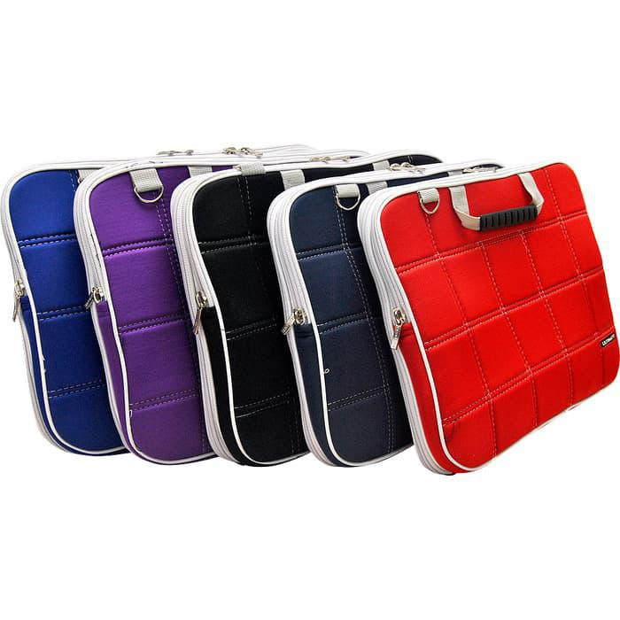 New List Ultimate Softcase Laptop / Cover / Tas Laptop Tebal Double Sl 14 Inch Promo