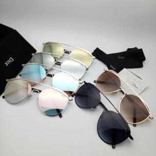 Sungglasses kacamata wanita cewek dior-1796 super full set paket hemat d8f7f2950d