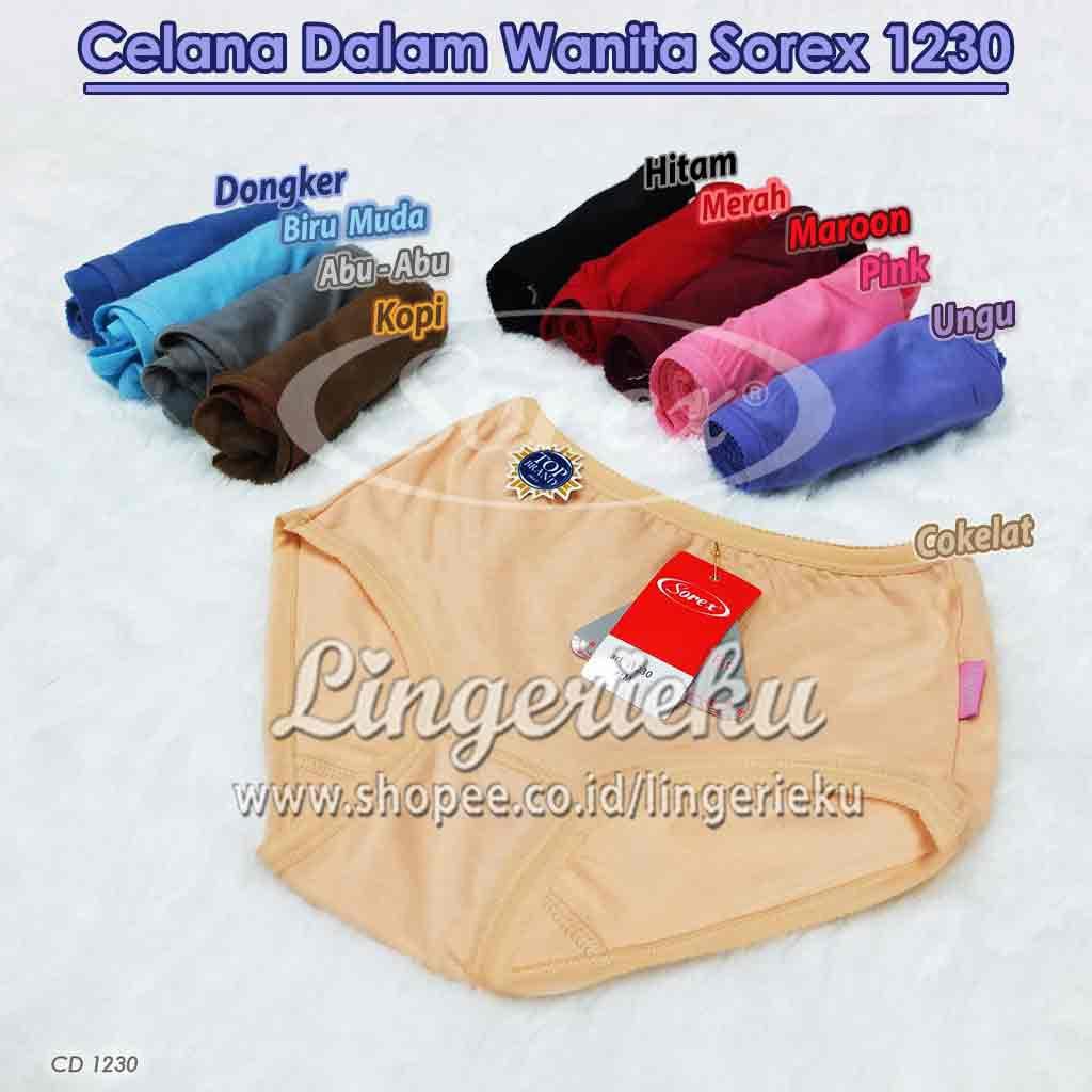 Celana Dalam Wanita Sorex 1230 Ukuran EL atau XL Best Seller Termurah  b0e17e20ff