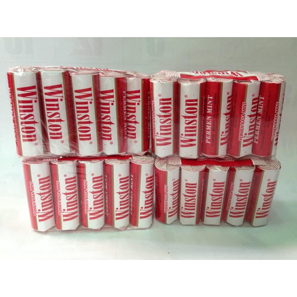 Permen Jadul Winston Rasa Mint Asli Malang Shopee Indonesia Texas Sarsaparilla Roll Sarsi Sarsaparila Candy