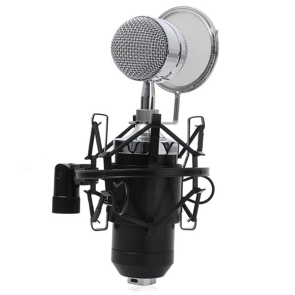 Save 37 Mikrofon Idiskon Pop Filter Layer Ganda Bop Bm8000 Kondenser Dengan Shock Proof Mount Bm 8000 Mic Microphone Cond