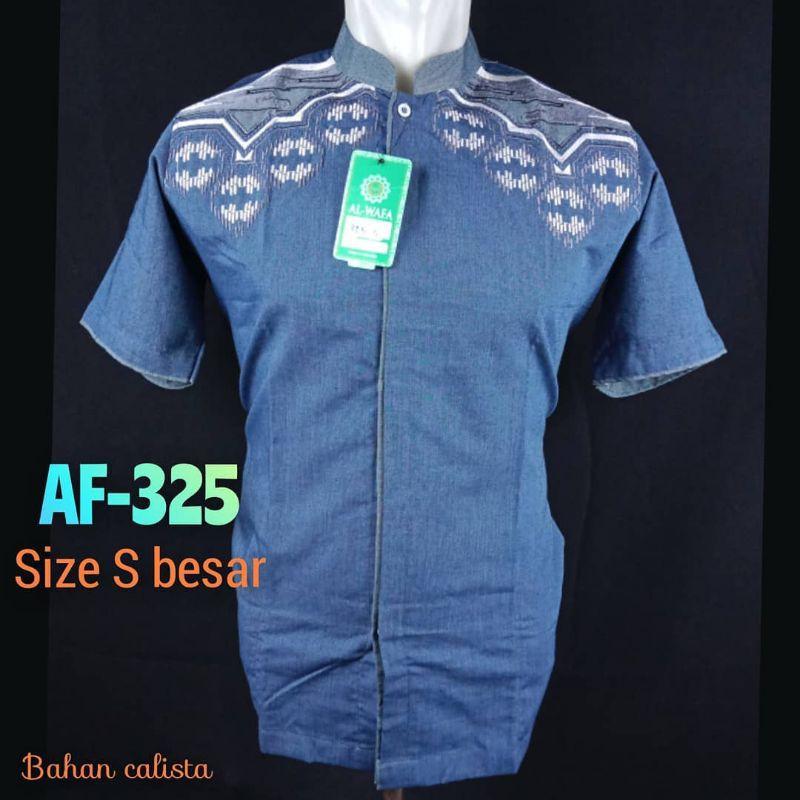 baju koko alwafa ukuran S