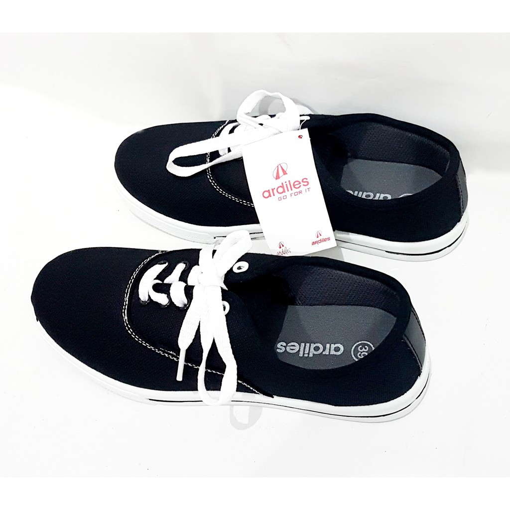 Ardiles Men Harbour Sepatu Sneakers Putih Biru Dongker Shopee Edogawa Running Navy 44 Indonesia