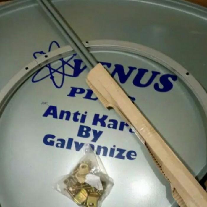 ⭐⭐HOT Venus Galvanis Antena / penguat sinyal Parabola Solid dish 6 feet / 1.8m Anti
