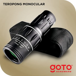 Goto Monocular Teropong Lens Zoom Bushnell Single
