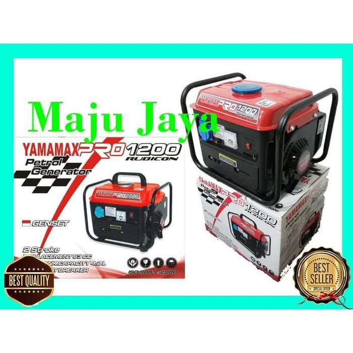 "Generator Genset | Genset Bensin Campur 700 Watt "" Power One ""Lakoni Honda Yamaha"