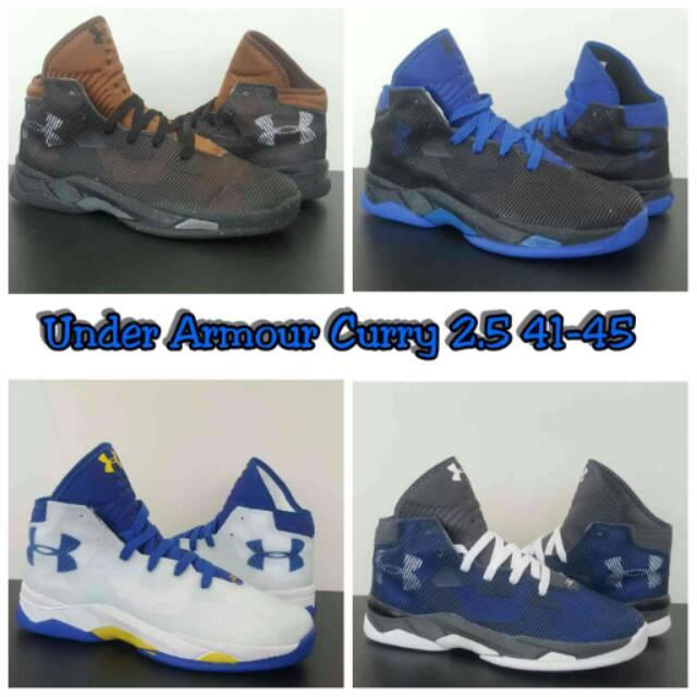 Sepatu Basket under armour kw import  25fb052913