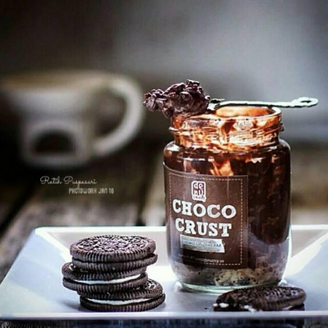 Jual Denu Cokelat Choco Crust Original Karangbahagia Sarang Yummy Tokopedia