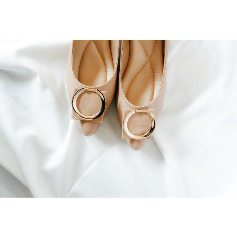 venybrose- Aluna heels biscuit Aluna klor heels biscuit sepatu heels sepatu kerja sepatu pantofel