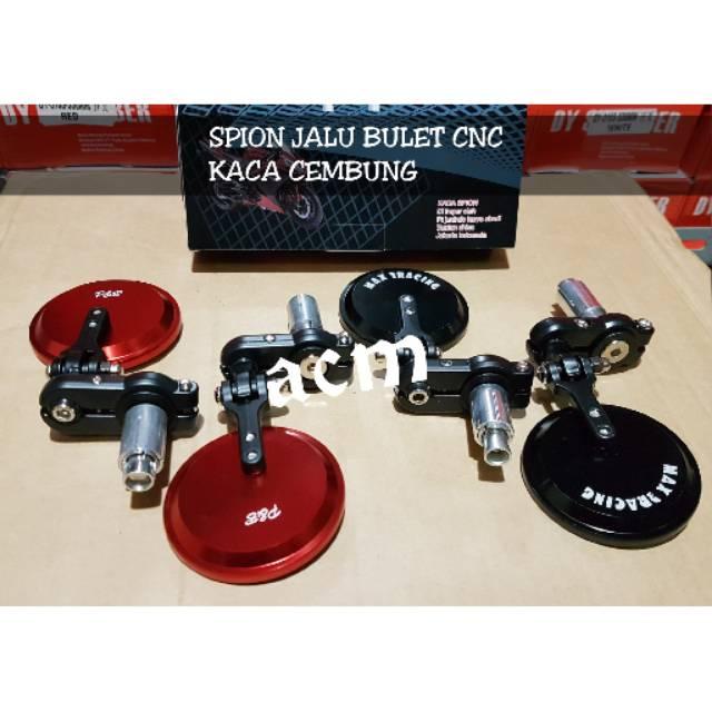 Spion Jalu Unuk Motor Universal Kaca Bulat - Kaca Kebiruan | Shopee Indonesia