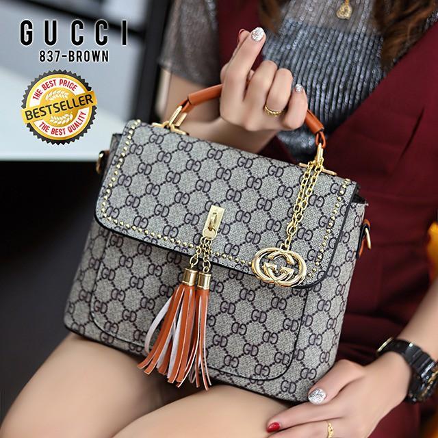 0d4d38e89cec Tas Gucci 837   Shopee Indonesia