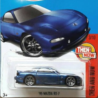 Mazda Rx7 2017 >> Hotwheels 95 Mazda Rx 7 Biru 2017 First Edition