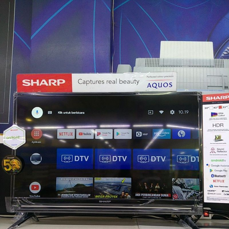 SHARP AQUOS android tv 32inch