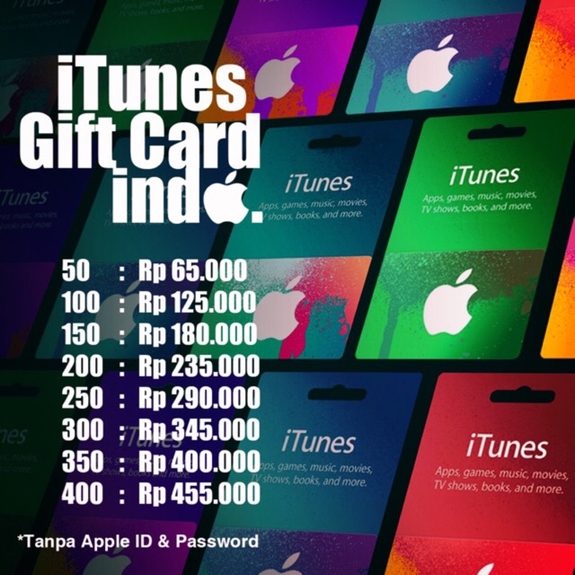 Apple App Store & iTunes Gift Cards US $10 (Voucher / IGC) | Shopee Indonesia