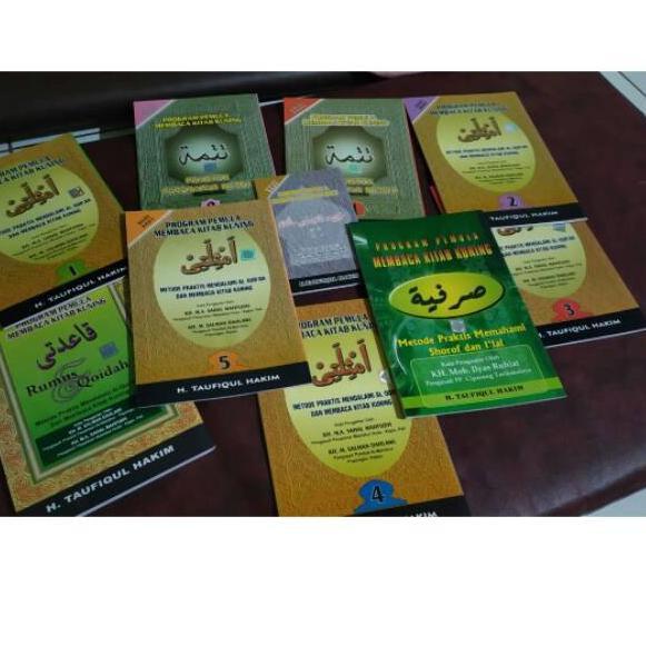 Barang Pilihan.. Kitab metode kitab kuning amtsilati amsilati paket lengkap