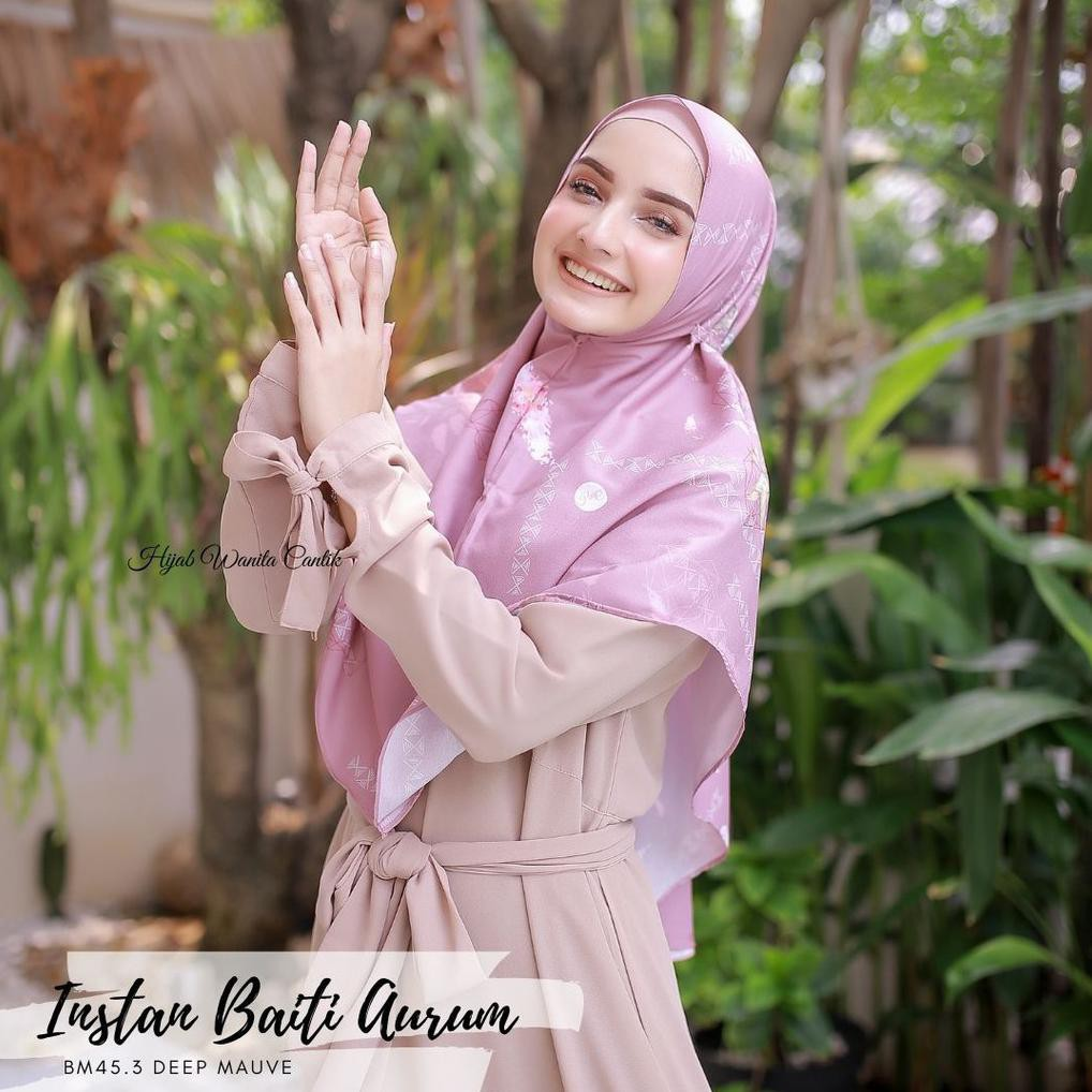 Hijab Instant Instan Baiti Aurum Instan Jilbab Instan