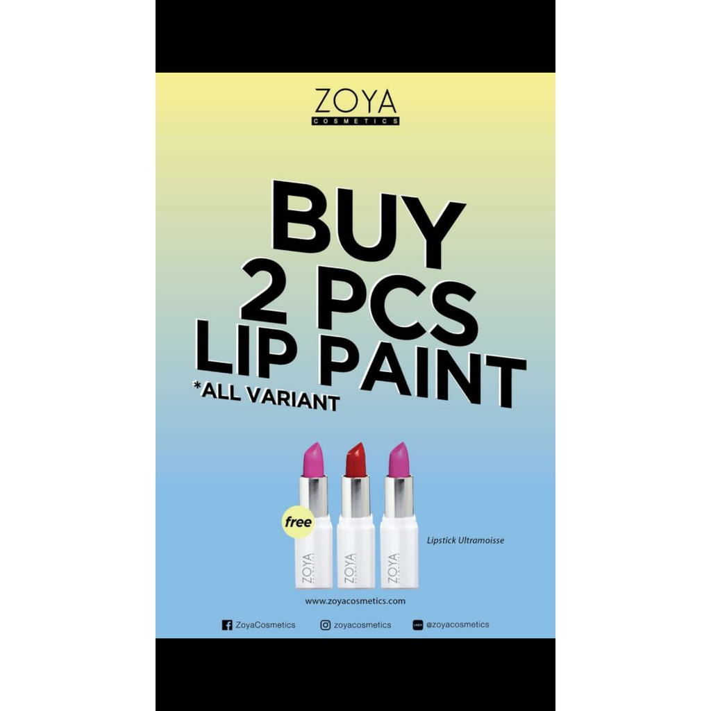 Velvet Matte Lip Paint Zoya Cosmetics Shopee Indonesia Baked Apple