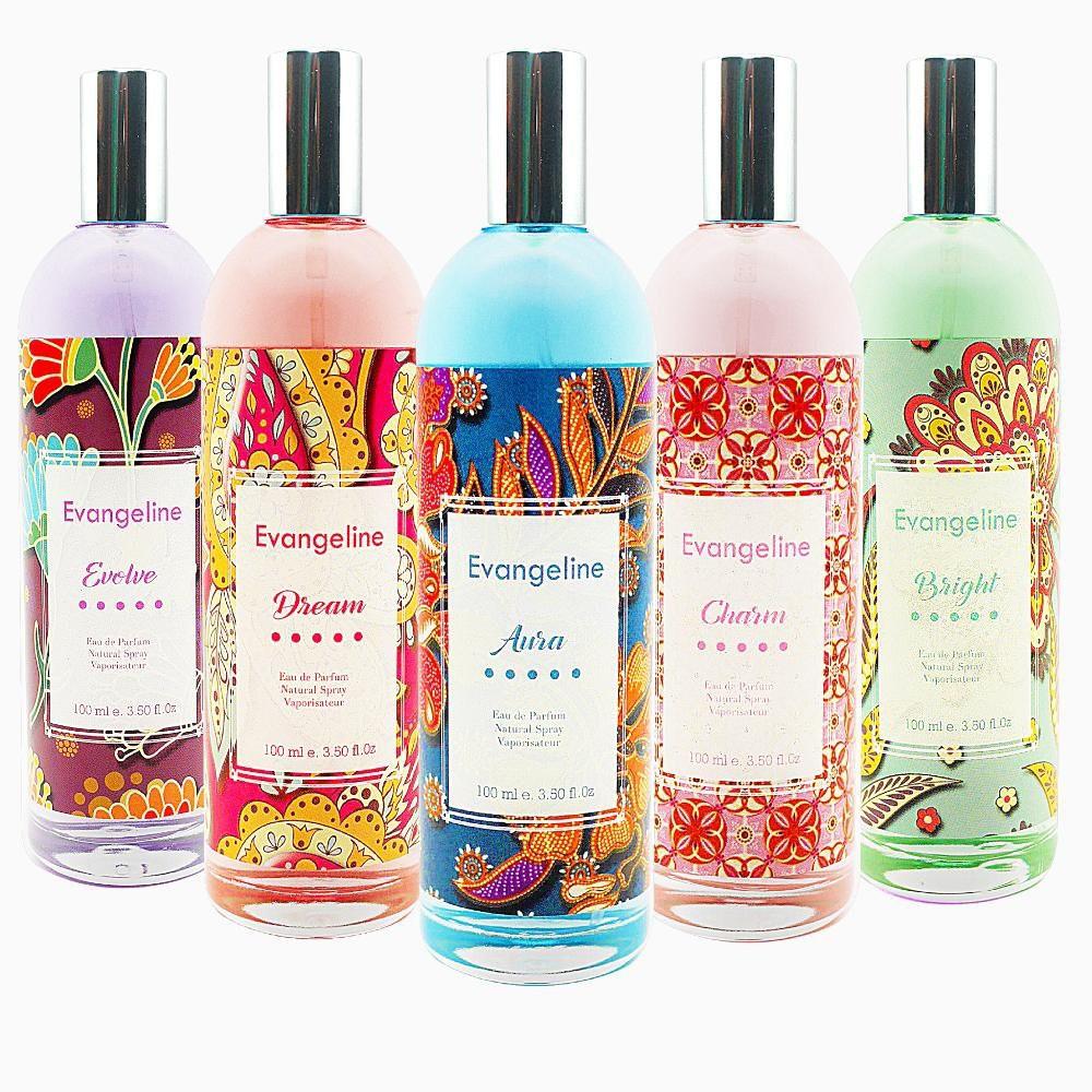 Evangeline Eau De Parfum Natural Spray 100ml Batik Shopee Indonesia Bravas