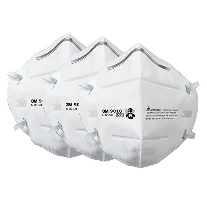 Asap Pcs Particulate Respirator - 3m 3 N95 Masker Pelindung 9010