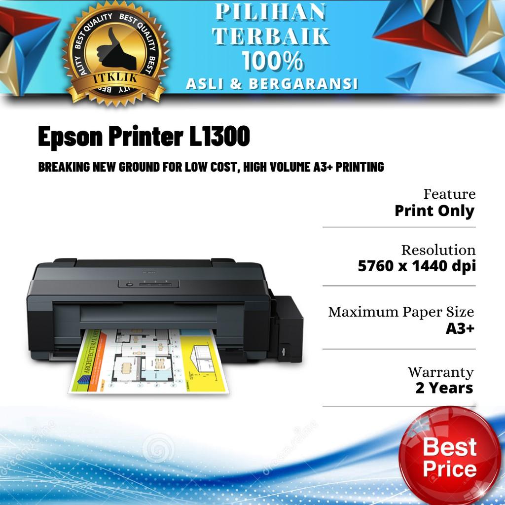 Epson Printer L1300 (Printer A3 A3+)