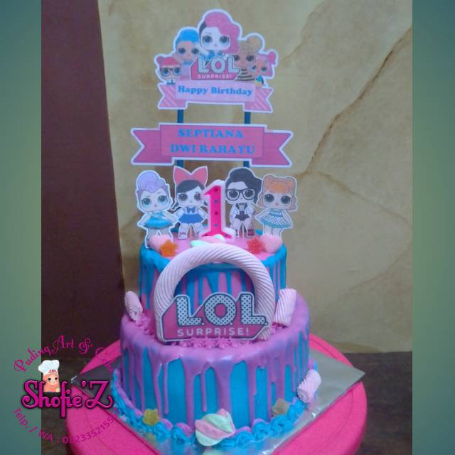 Kue Tart Ulang Tahun Lol