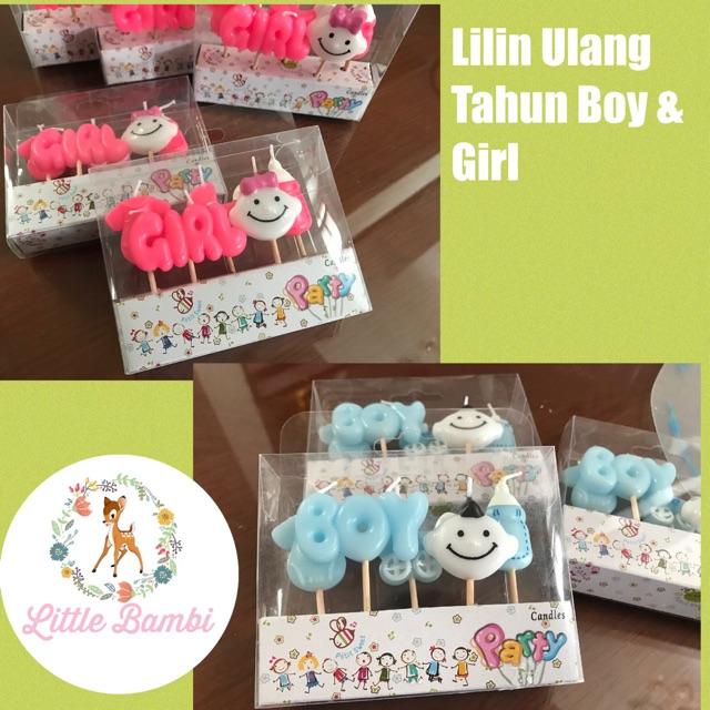 Lilin Ulang Tahun / Lilin Happy Birthday / Lilin kue ultah | Shopee Indonesia