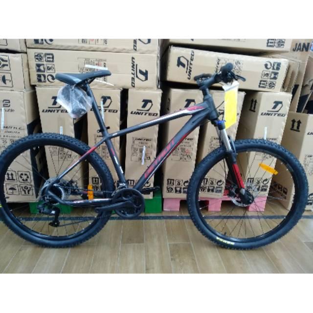Sepeda Mtb United Detroit 1 1 New 2020 Free Pompa Sepeda Dan Bel Shopee Indonesia