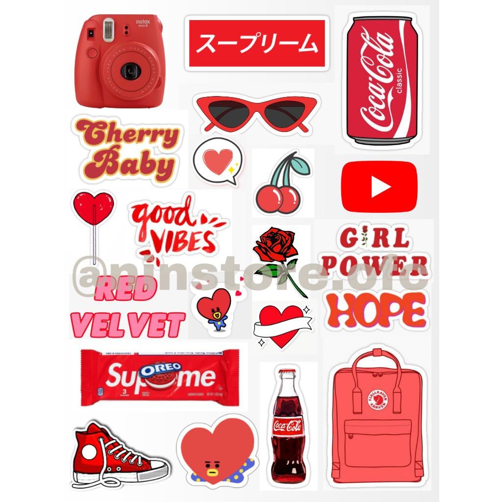 Stiker Tumblr Aesthetic No Cutting Untuk Case Hp Laptop Koper Dll Uk Besar Dan Kecil Shopee Indonesia