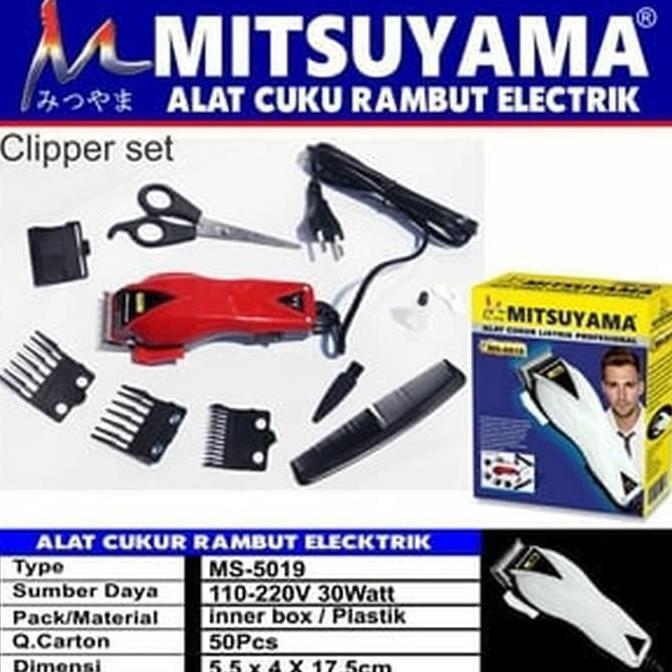 Alat Cukur Potong Rambut Mitsuyama MS 5019  ad6c4ea8d5