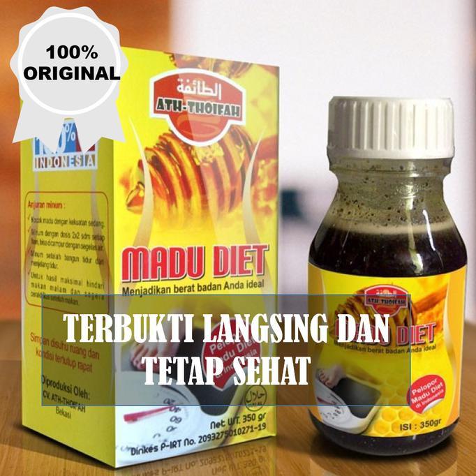 BIG SALE madu diet atthoifah / obat pelangsing alami / obat diet | Shopee Indonesia