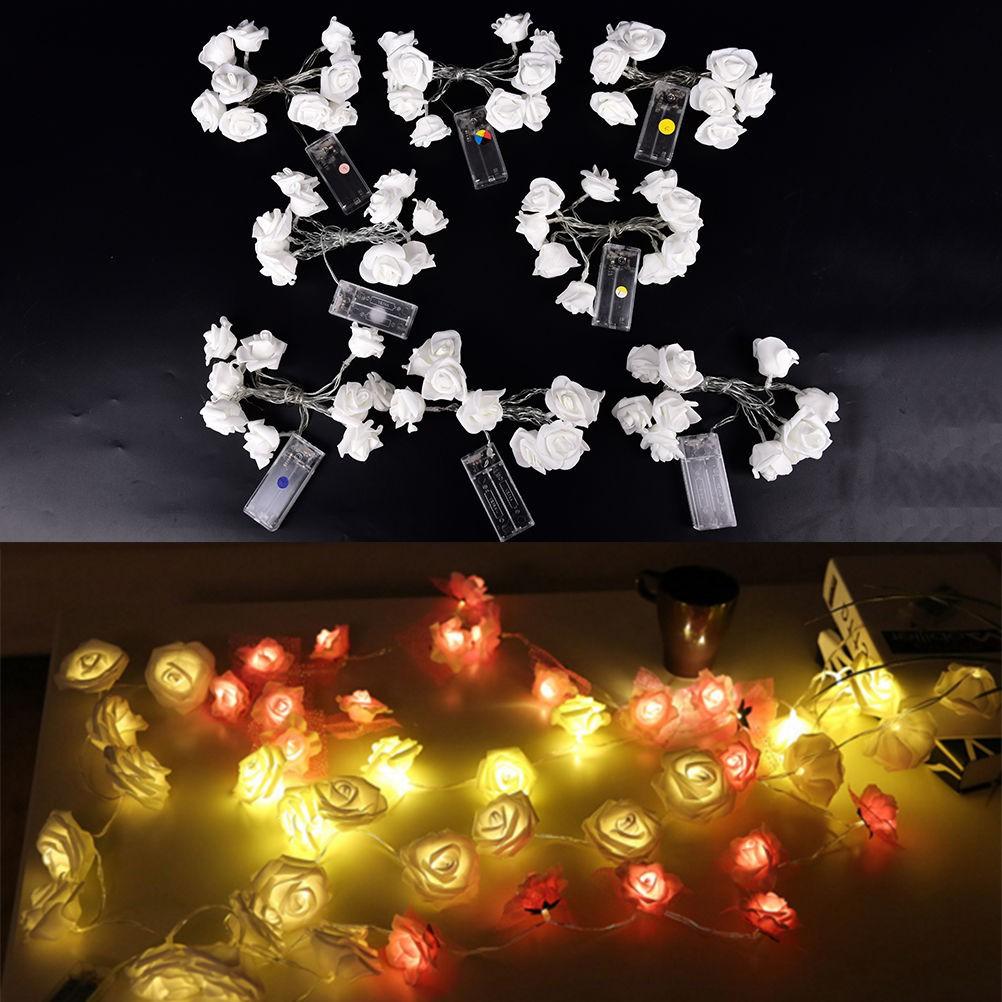 Lampu Led 10smd Bentuk Bunga Mawar Untuk Dekorasi Pesta Pernikahan Solar Powered Garden Decoration Light 100 12 Meter Hias Taman Ulang Tahun Shopee Indonesia