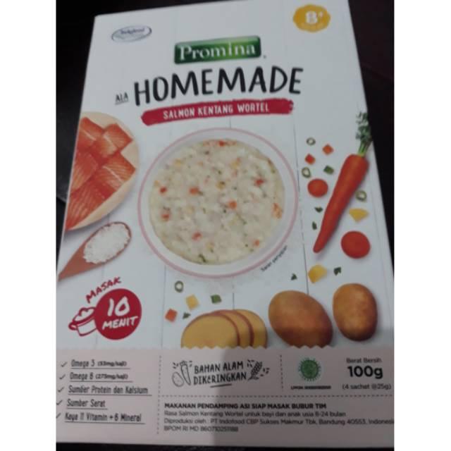 Promo Promina Homemade Salmon Kentang Wortel Shopee Indonesia