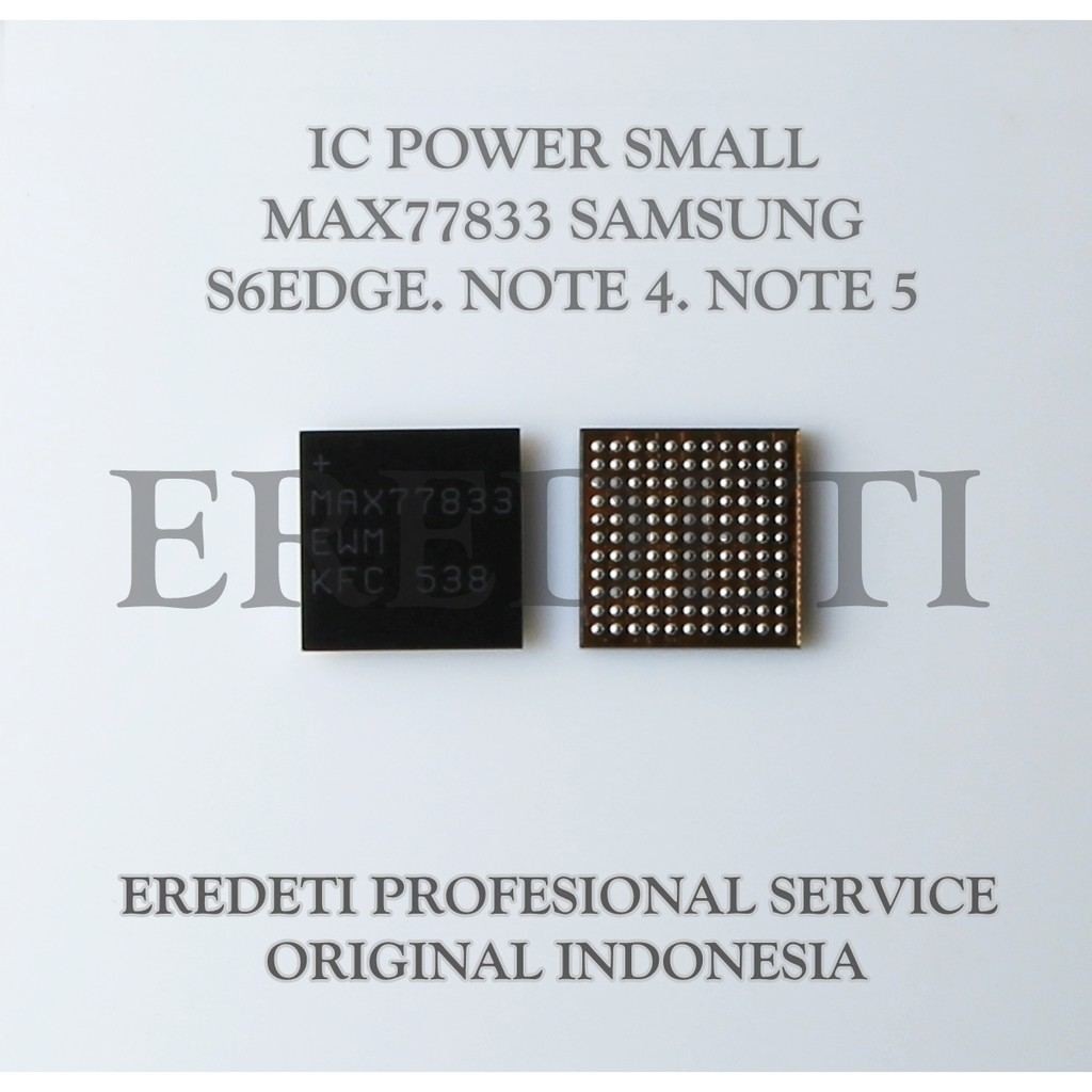 IC POWER SMALL MAX77833 SAMSUNG S6EDGE  NOTE 4  NOTE 5 KD-001526