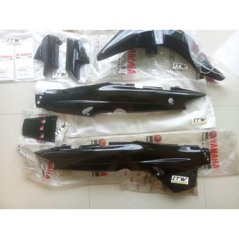 Cover Body Fullset Fulset Set Lengkap F1ZR FIZR Full Warna Hitam Original YGP Nos