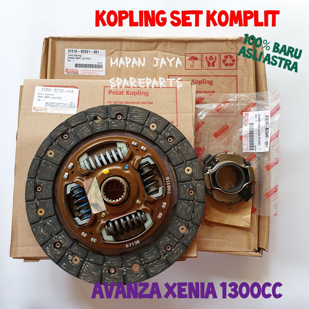 Kanvas Kopling Set Komplit Avanza Xenia 1300 Original Asli Daihatsu Shopee Indonesia