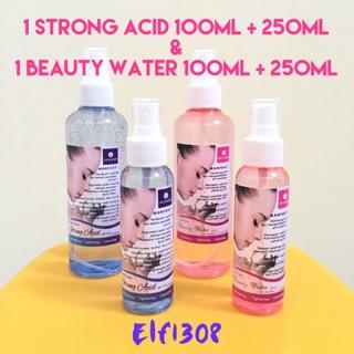 Strong Acid DAN Beauty Water SPRAY by Air Kangen Water 100ml Original Asli Fresh 1 PAKET MURAH OKE | Shopee Indonesia