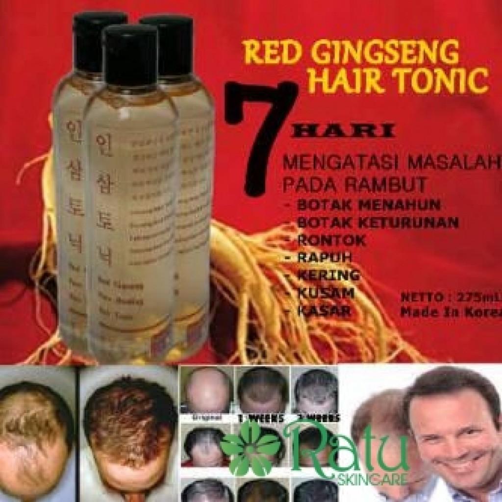 BIO HERBAL RED GINSENG HAIR TONIC OBAT RAMBUT RONTOK BPOM ORI | Shopee Indonesia