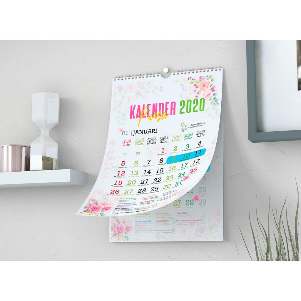 Kalender Puasa, Kalender Dinding SPIRAL dan KLEM BESI 2020 ...