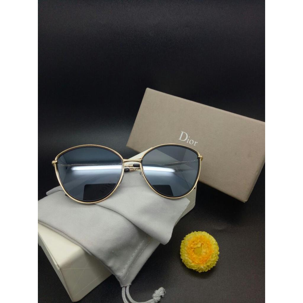 Ready 8 Pilihan Warna Kacamata Gaya Suglasses Wanita Dior Vountage Muraah  04372ec79b