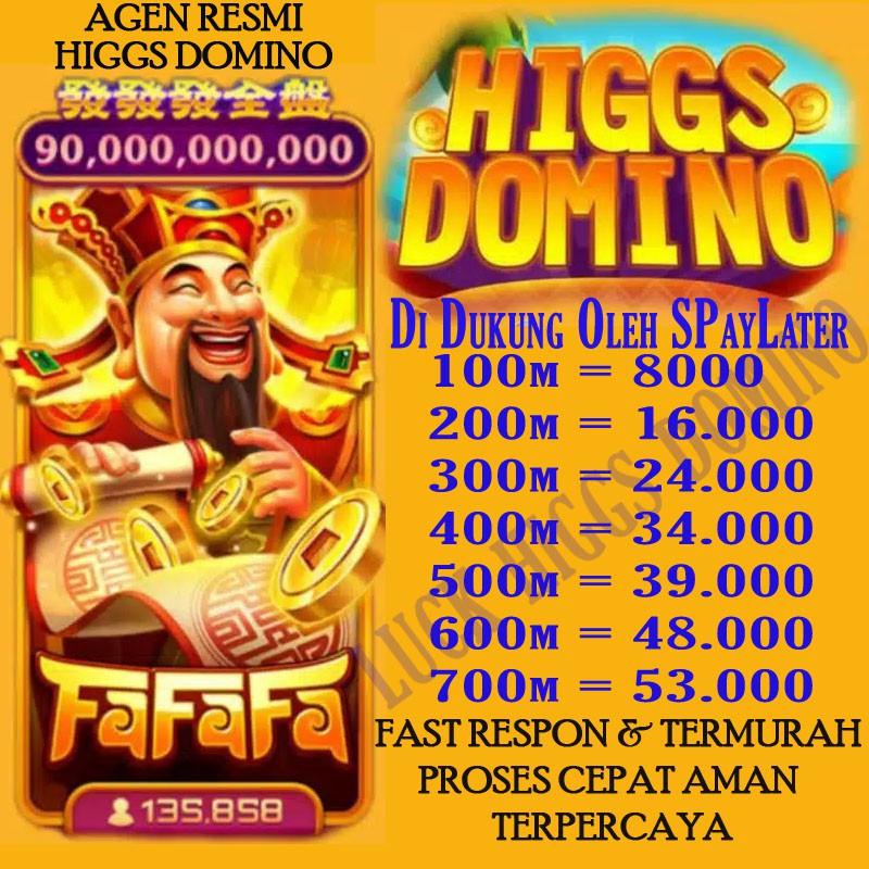 CHIP HIGGS DOMINO ECERAN