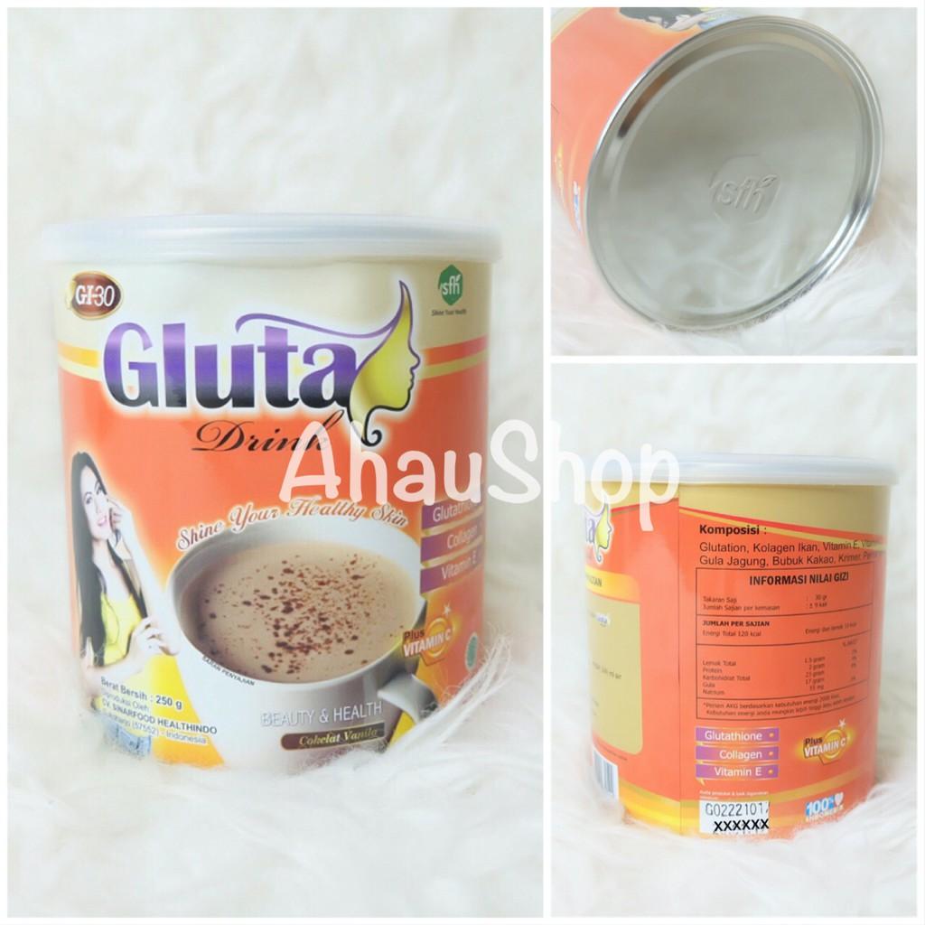 GLUTA DRINK KALENG COKLAT / GLUTA KALENG / GLUTA DRINK | Shopee Indonesia